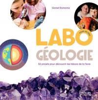 Labo géologie, pour les kids