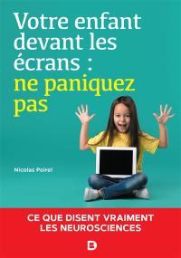 Votre enfant devant les écrans