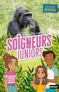 Soigneurs juniors. Volume 2, Le grand départ des gorilles