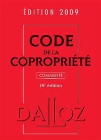 Code de la copropriété 2009 commenté