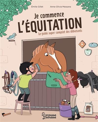 Je commence l'équitation