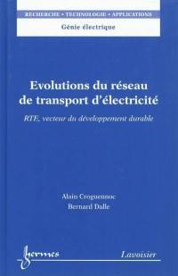 Evolutions du réseau de transport d'éléctricité