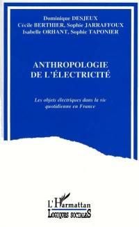 Anthropologie de l'électricité