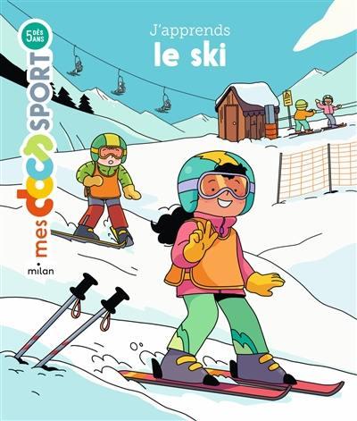 J'apprends le ski