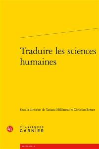Traduire les sciences humaines