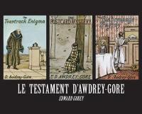 Le testament d'Awdrey Gore