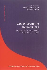 Clubs sportifs en banlieue