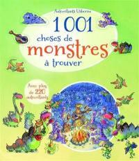 1.001 choses de monstre à trouver