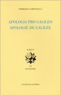 Apologie de Galilée. Apologia pro Galileo