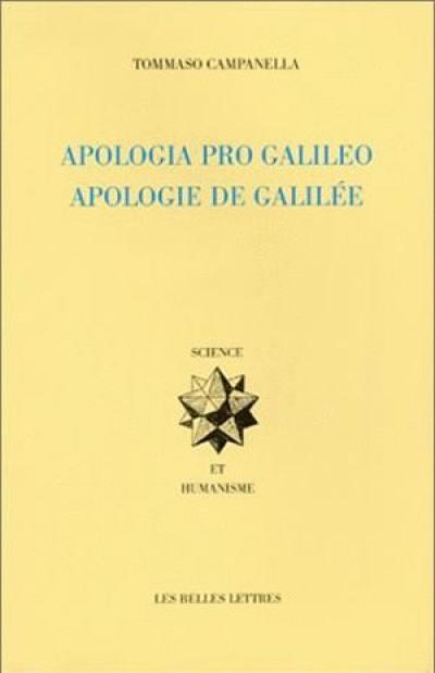 Apologie de Galilée = Apologia pro Galileo