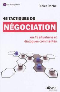 45 tactiques de négociation