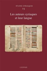 Les auteurs syriaques et leur langue