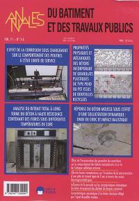 Annales du bâtiment et des travaux publics. n° 5-6 (2019),