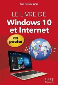 Le livre de Windows 10 et Internet : en poche