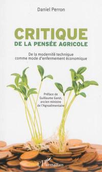 Critique de la pensée agricole