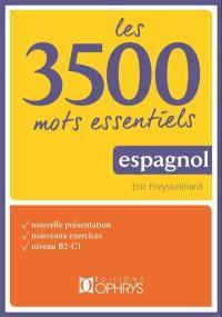Les 3.500 mots essentiels espagnols