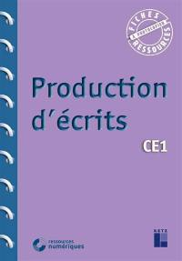 Production d'écrits CE1 : programmes 2016