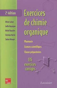 Exercices de chimie organique