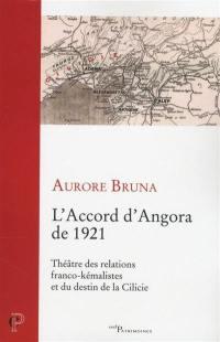 L'accord d'Angora de 1921