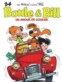 Boule et Bill. Volume 34, Un amour de cocker