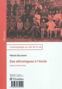 Des ethnologues à l'école