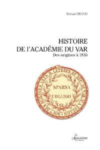 Histoire de l'Académie du Var