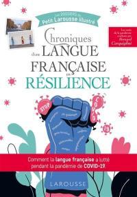 Chroniques d'une langue française en résilience