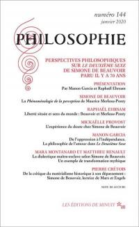 Philosophie. n° 144, Perspectives philosophiques sur Le deuxième sexe de Simone de Beauvoir paru il y a 70 ans