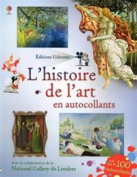 L'histoire de l'art en autocollants
