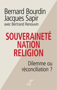 Souveraineté, nation, religion