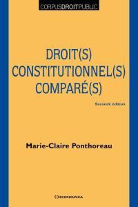 Droit(s) constitutionnel(s) comparé(s)
