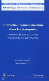 Interaction homme-machine dans les transports