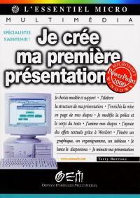 Je crée ma première présentation avec PowerPoint 2000
