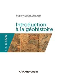 Introduction à la géohistoire