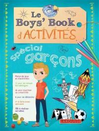 Le boys' book d'activités