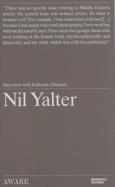 Nil Yalter : interview with Fabienne Dumont