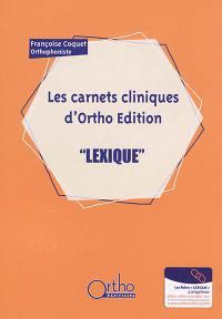 Les carnets cliniques d'Ortho Edition