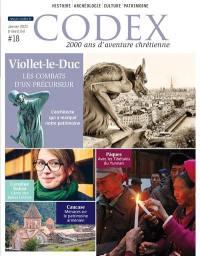 Codex : 2.000 ans d'aventure chrétienne. n° 18, Viollet-le-Duc