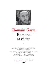 Romans et récits. Volume 2,
