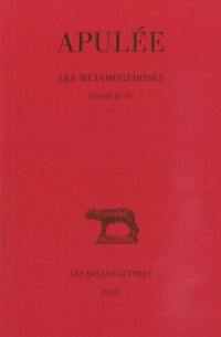 Les métamorphoses. Volume 2, Livres IV-VI