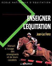 Enseigner l'équitation