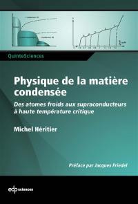 Physique de la matière condensée