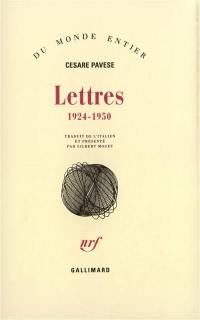 Lettres : 1924-1950