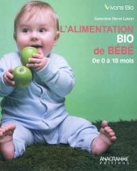 L'alimentation bio de bébé de 0 à 18 mois