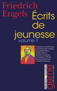 Ecrits de jeunesse. Volume 1, 1839-1842
