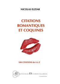 Citations romantiques et... coquines