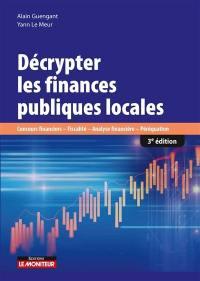 Décrypter les finances publiques locales