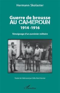 Guerre de brousse au Cameroun