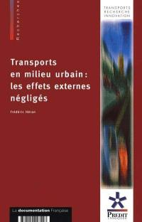 Transports en milieu urbain