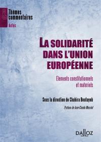 La solidarité dans l'Union européenne